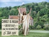 Resurrection Outdoor Lifesize Display