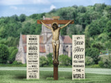 Crucifixion Outdoor Lifesize Display