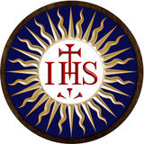 IHS Emblem Outdoor Plastic Wood Plaque