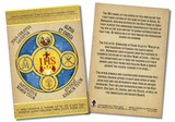 Latin Holy Name Emblem Faith Explained Cards - Pack of 50