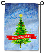 Peace on Earth Outdoor Garden Flag