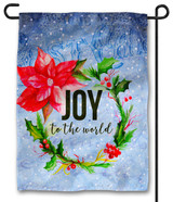 Joy to the World Outdoor Garden Flag