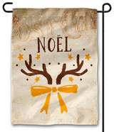 Vintage Noel Outdoor Garden Flag