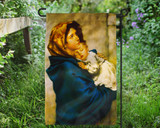 Madonna of the Streets Outdoor Garden Flag