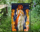 King of Divine Mercy Outdoor Garden Flag