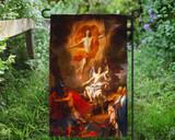 Resurrection by Coypel Outdoor Garden Flag