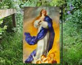 Immaculate Conception Outdoor Garden Flag