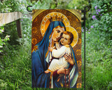 Our Lady of Mt. Carmel Outdoor Garden Flag