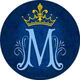 Marian Symbol Emblem Decal