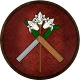 St. Joseph Symbol Emblem Outdoor Poly Wood Plaque