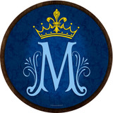 Marian Symbol Emblem Outdoor Poly Wood Plaque
