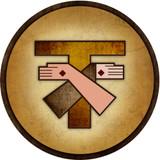 Franciscan Emblem Outdoor Poly Wood Plaque