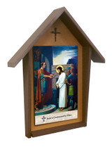 Emmerich Stations of the Cross Deluxe Poly Wood Outdoor Shrine (Set of 14)