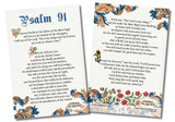 Psalm 91 4x6 Prayer Cards -Pack of 50