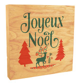 Joyeux No?l Rustic Box Art