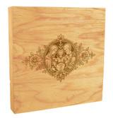 Holy Family Woodcut Rustic Box Art