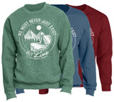 """Live"" Crewneck Sweatshirt"