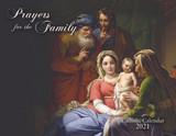 Catholic Liturgical Calendar 2021: Prayers for the Family