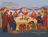 Catholic Liturgical Calendar 2021: the Iconography of Mount Tabor Studios