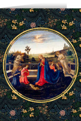 Adoration of the Child by Lippi Christmas Cards (25 Cards)
