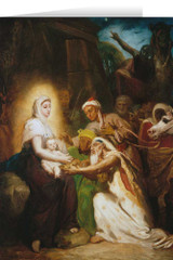 Adoration of the Magi by Theodore Chasseriau Christmas Cards (25 Cards)