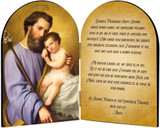 Commemorative St. Joseph Arched Diptych