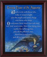 Evening Prayer of St. Augustine - Cherry Framed Art