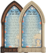 Our Lady of this House Home Doorpost Blessing