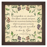 """Everywhere in Creation"" Rustic Framed Quote"