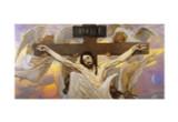 Christ Crucified by Viktor Vasnetsov Print