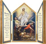 Resurrection Triptych Plaque