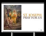 St. Joseph Patron of the Church Yard Sign