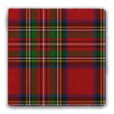 Royal Stewart Tartan Tumbled Stone Coaster