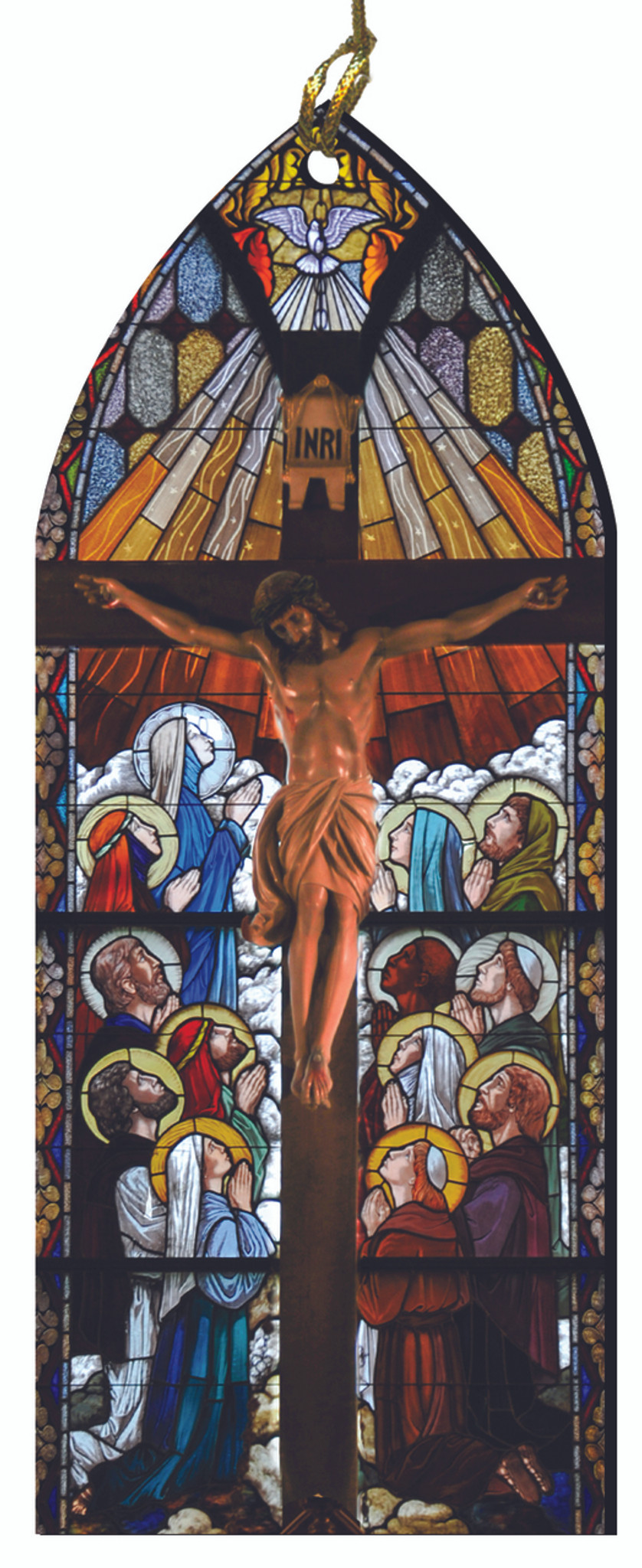 Our Lord Divine Mercy Stained Glass Prayer Plaque Religious Gift