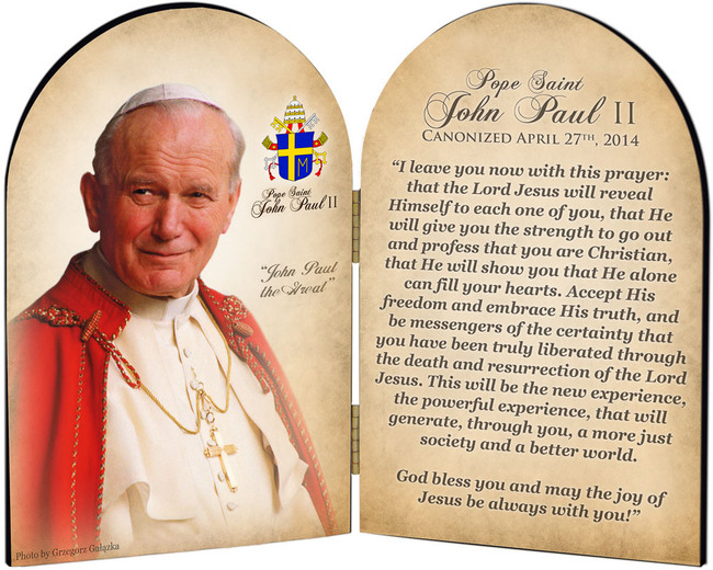 St John Paul Ii Products Nelson Gifts Wholesale