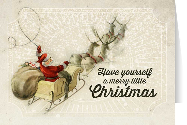 Image result for vintaGE CHRISTMAS CARD