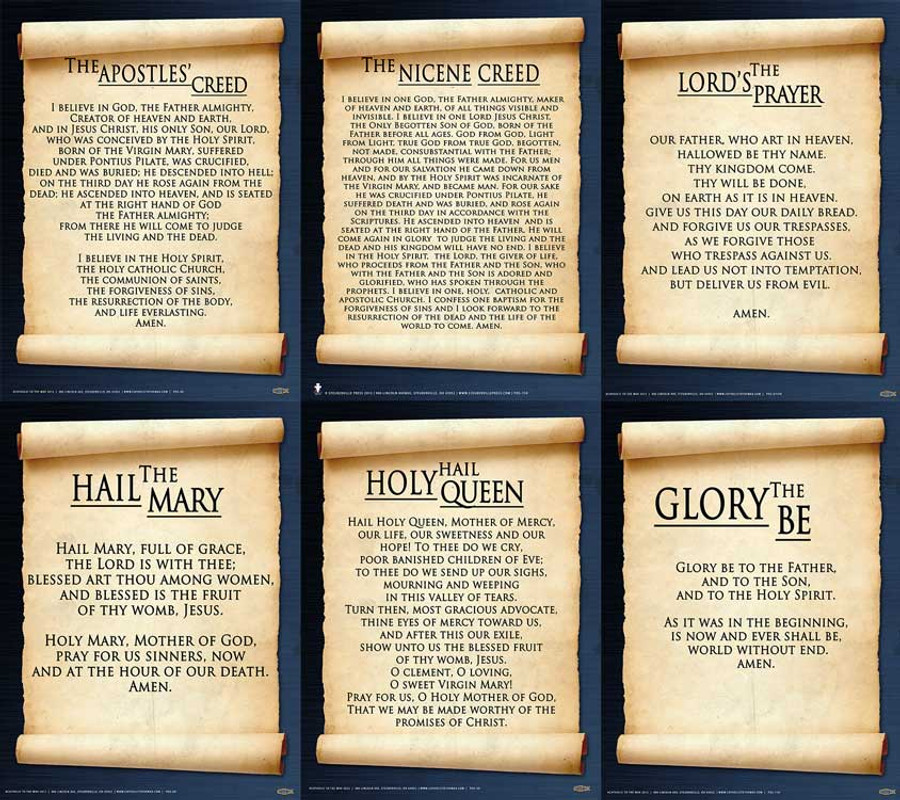 Common Prayers III Poster Value Pack
