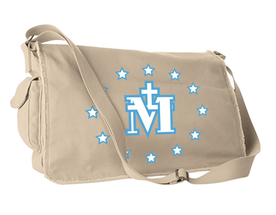 Miraculous Medal Large Messenger Bag
