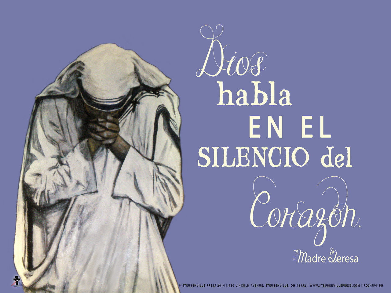 Spanish God Speaks Poster Ii Nelson Gifts Wholesale