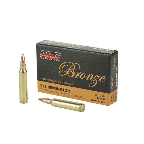 Project War Path Ammo PMC Bronze .223 Remington 1000 rounds PMC