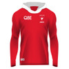 Sydney Swans 2019 ISC Mens Warm Up Top Hooded Red