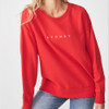 Sydney Swans Womens Long Sleeve Sydney Crew