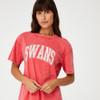 Sydney Swans 2021 CottonOn Womens Collegiate T-Shirt