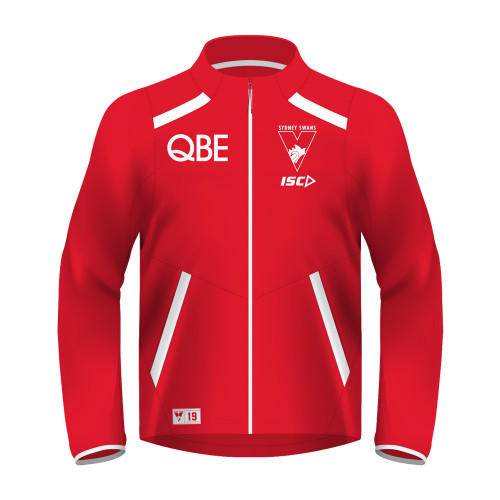 Sydney Swans 2019 ISC Mens Arena Jacket Red