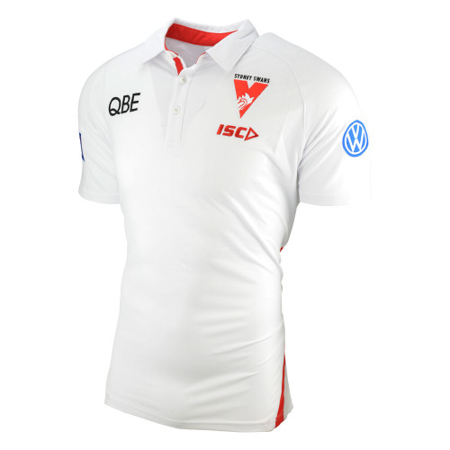 Sydney Swans 2019 ISC Mens Performance Polo White