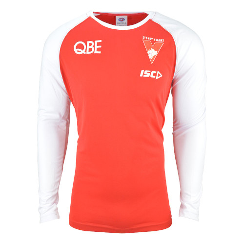 Sydney Swans 2019 ISC Mens Warm Up Top Crew Red