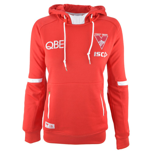 Sydney Swans 2019 ISC Womens Squad Hoody Red