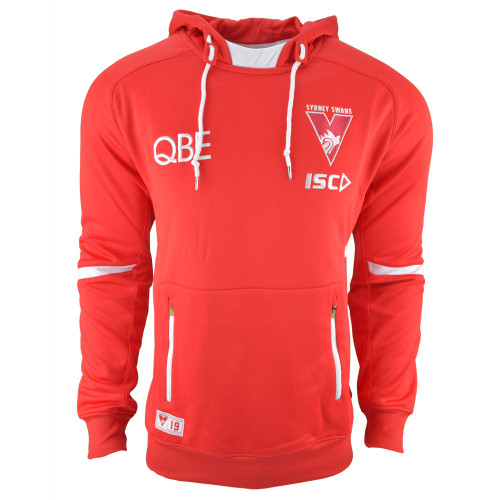 Sydney Swans 2019 ISC Mens Squad Hoody Red