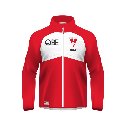 Sydney Swans 2019 ISC Kids Wet Weather Jacket Red