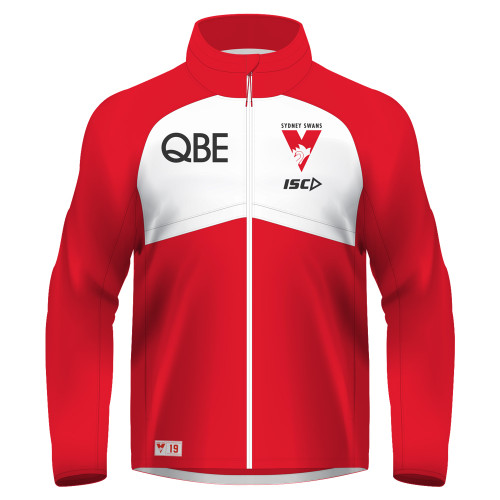 Sydney Swans 2019 ISC Mens Wet Weather Jacket Red